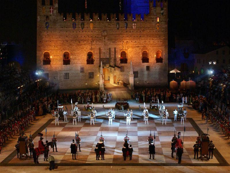 Partita scacchi Marostica