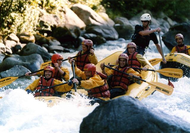 Rafting Noce