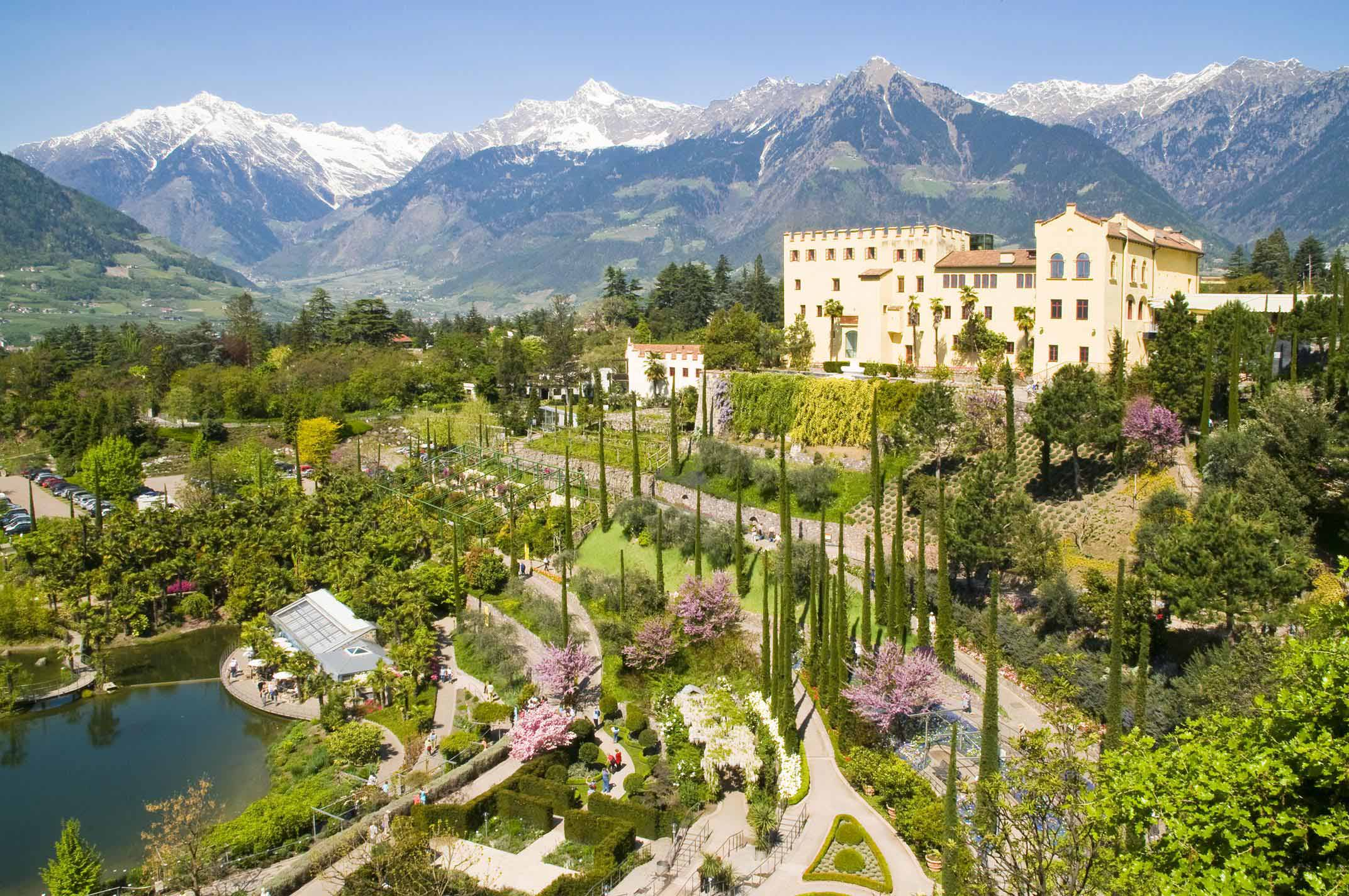 Stupefacente Giardino Botanico Merano Stock Di Giardino Design
